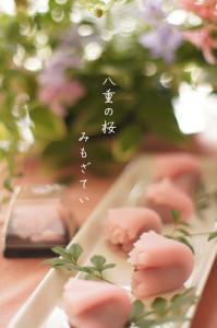 和菓子 八重の桜